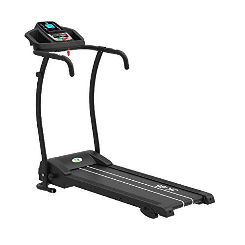 Fit4home Electric Treadmill Folding Running Walking Machine Black JK06
