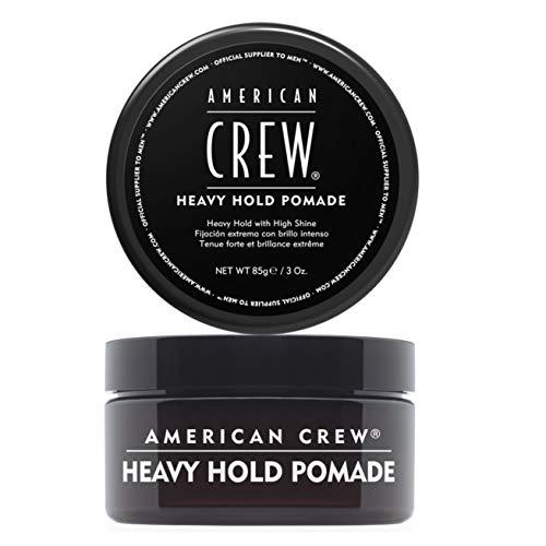 American Crew Heavy Hold Pomade, Extremer Halt, wasserbasiert, 1er Pack (1 x 85 g)