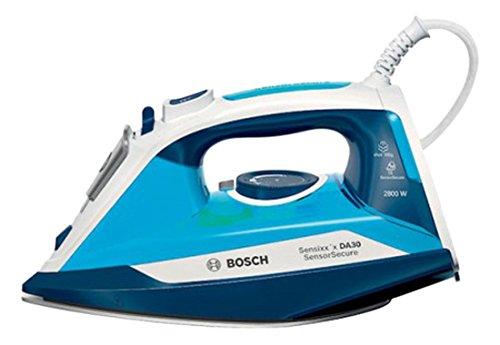 Bosch TDA3028210 stoomstrijkijzer A Vapore, 2800 W, 0,32 liter, plastic, wit/blauw