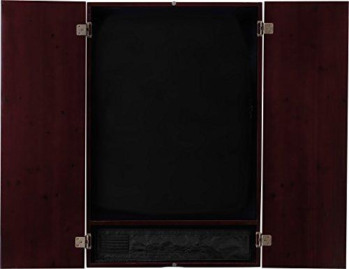 Viper Metropolitan Solid Wood Electronic Soft Tip Dartboard Cabinet: Cabinet Only (No Dartboard), Mahogany Finish