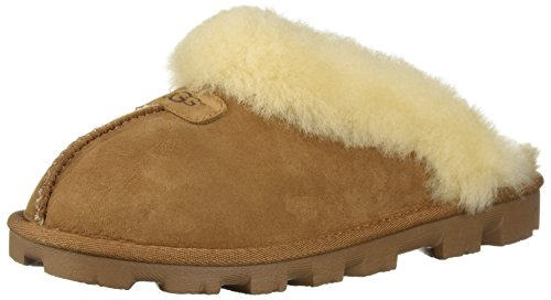 UGG Female Coquette Slipper, Chestnut, 5 (UK)
