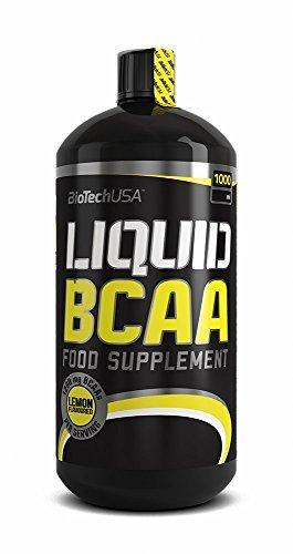 BioTech USA LIQUID BCAA 1000ML LEMON LIQUID AMINO ACID FORMULA WITH BCAAS