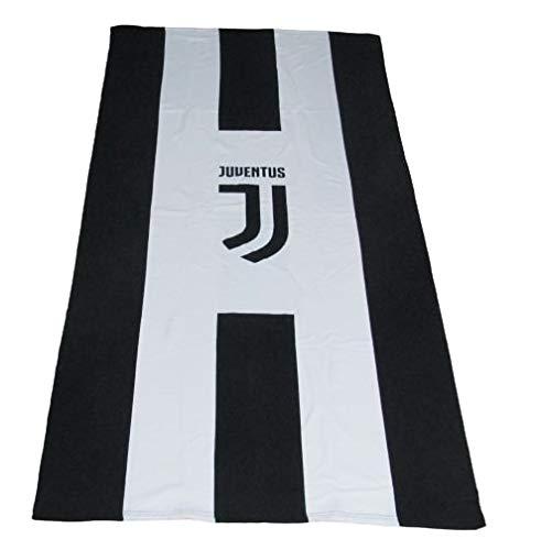 Casanov\'è Telo Mare Piscina Bagno Ufficiale FC Juventus Nuovo Logo Micro Spugna 100{77d1a1aee0a2f2b12693056401860a179ed2438dc239ead44c4e32b5d844d3b4} Cotone IDROFILO Salva-Spazio