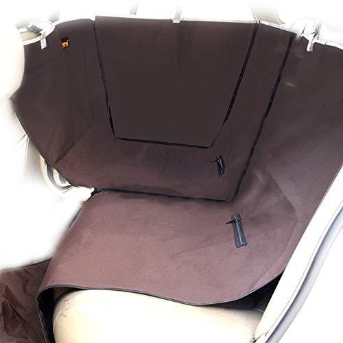 Funda para asiento de perro extraíble, asiento delantero individual, resistente a la abrasión, resistente al agua, para mascotas, resistente al desgarro, cinturón de seguridad plegable, lavable
