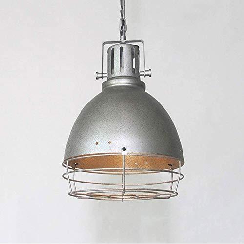 HSLJ1 Chandelier clásico retro, luz de colgante vintage industrial Lámpara colgante de hierro forjado Nostalgia Luminaria de techo de estilo rústico para sala de estar Salón de comedor, E27