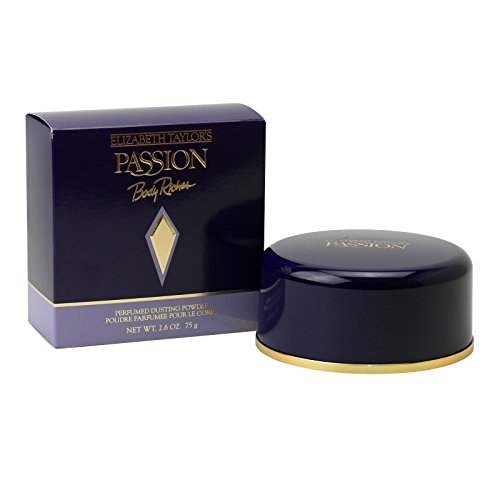 Elizabeth Taylor Passion 75 g Perfumed Dusting Powder Puder