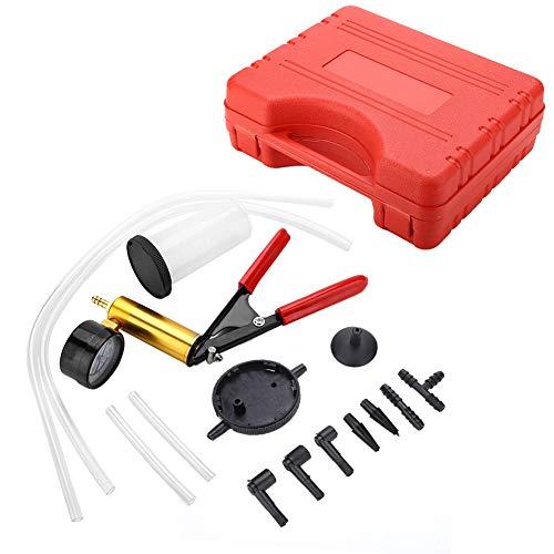 GOTOTOP Bremsenentlüfter, Multifunktional Bremsenentlüftungsgerät Bremsenentlüfter Set mit Kunststoffkoffer