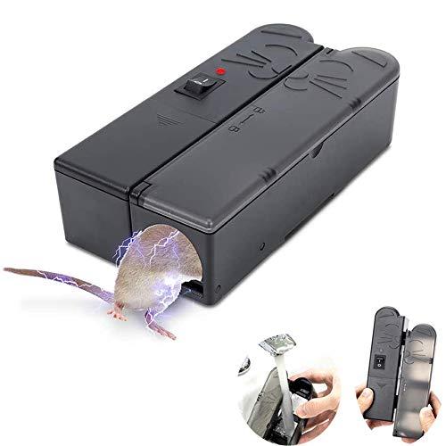 Lin Trampa para ratón electrónica, Matador de ratón electrónico Humano Reutilizable con...