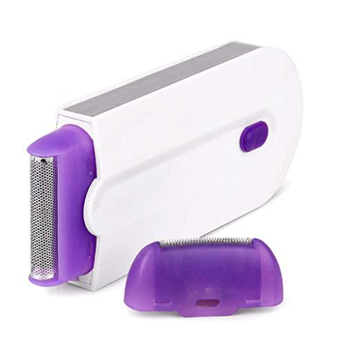 Vrouwelijk oplaadbare optische technologie epilator onmiddellijke pijnloze scheermes sensor,with plug