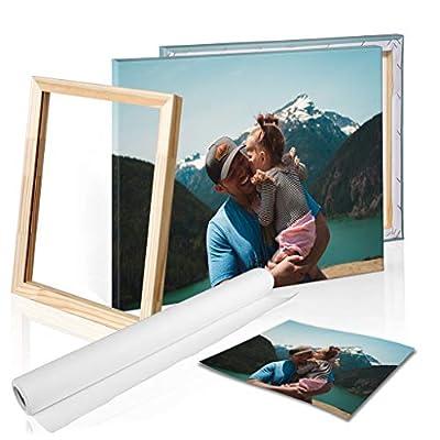 Color y nitidez increíble - Imprime tu foto en lienzo - en hermosos colores y excelente calidad de impresión. En DON LETRA utilizamos exclusivamente tinta de impresora de gran-marca para tu foto en lienzo. Esta tinta de látex con protección UV creará...