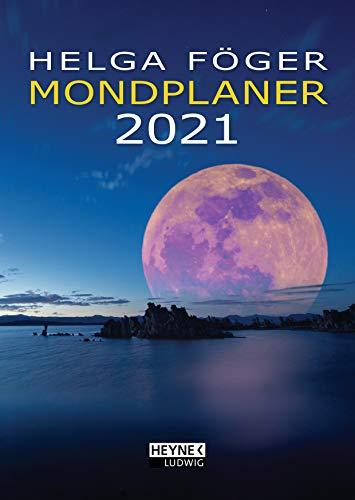 Mondplaner 2021: Taschenkalender 10,5 x 14,8 cm