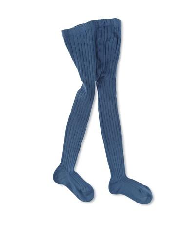 Leotardos basicos acanal azul francia 4 años