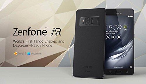 Asus Zen Ar Smartphone, Marchio Tim, 128 GB, Nero [Italia]