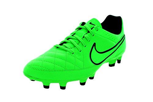 Nike Tiempo Genio Fg, Scarpe da Calcio Uomo, Green Strike/Grn Strk-Blk-Blk, 41 EU