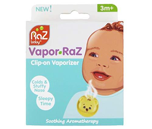 Vapor-RaZ Clip-on Vaporizer/Soothing Aromatherapy/Eucalyptus & Menthol/Lavender