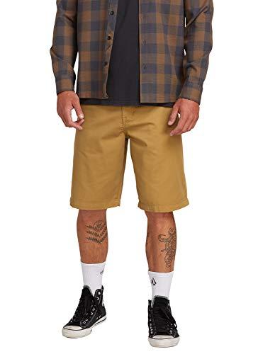 Volcom Herren Men's Frickin Chino Lässige Shorts, kaki, S