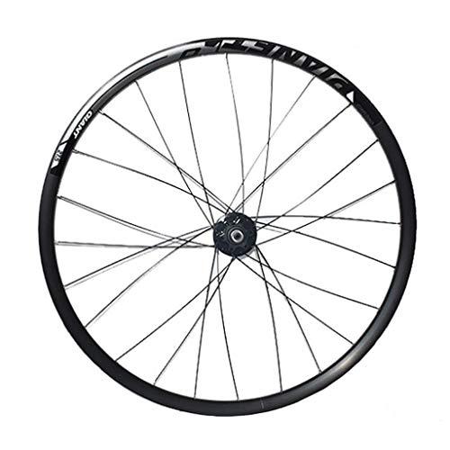LDDLDG Juego Ruedas Bicicleta 27.5' de la Rueda Delantera de la Bicicleta de montaña de la aleación de Disco de Doble Pared