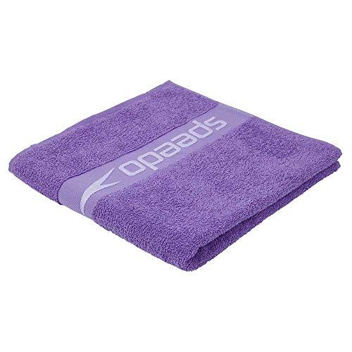 Toalla Speedo Border Unisex, Ultra Violet/Hard Candy