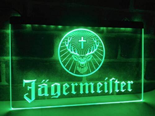 Deutsch Likör und Spirituosen Neon LED Zeichen Werbung Neonschild Grün by LEDHouse