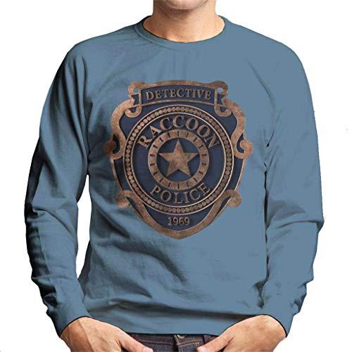 Cloud City 7 Raccoon Police Badge Resident Evil heren sweatshirt