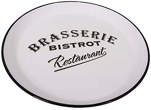 Plateau rond Brasserie Blanc