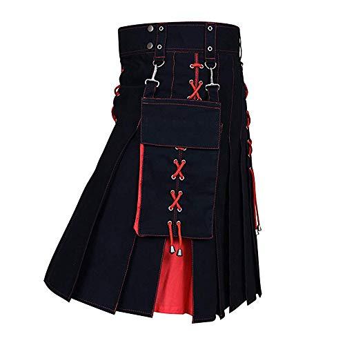 Vertvie Heren Schotse kilt rok jurk Highland geruit