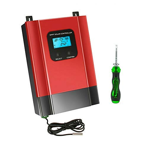Controlador de carga solar 60A MPPT 12 24V 36V 48V DC Cargador de batería Relulator MPPT Regulador de carga solar