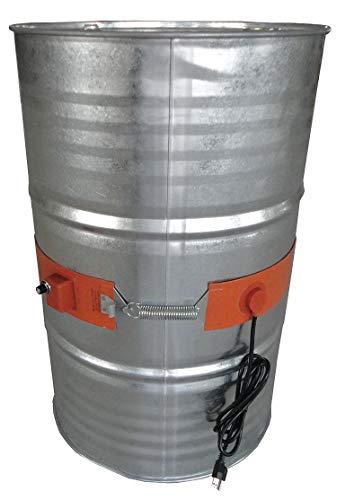 Find Bargain Industrial Grade 3CDA4 Drum Heater, Elect, 6.5A, 115V, L54 3/4In