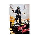 ZHLLONGFG Mad Max Filmposter, Leinwand-Kunst-Poster und
