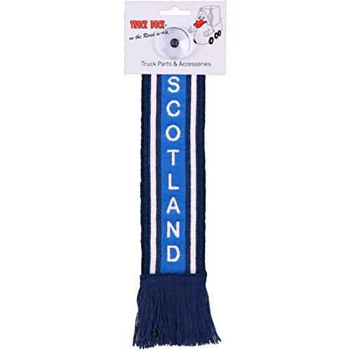TRUCK DUCK® LKW Auto Minischal Scotland Schottland Trucker Mini Schal Wimpel Flagge Fahne Saugnapf Spiegel Deko