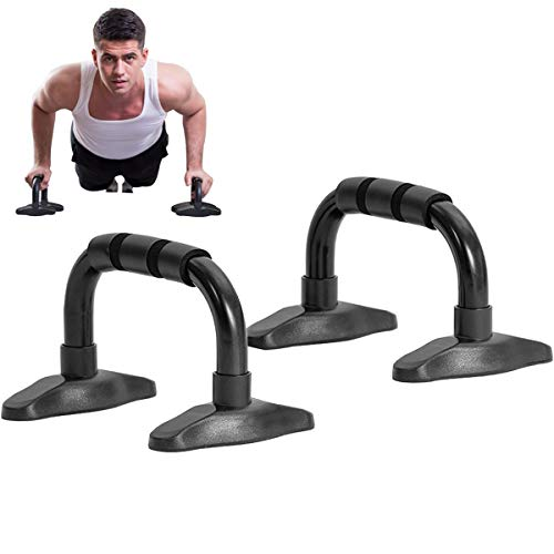 Outroad Push Up Bars - Pushup Bars with Non-Slip Feet and Comfort Foam Grip for Providing a Safer Push Up Stand, Slip-Resistant Polypropylene Push up Exercise