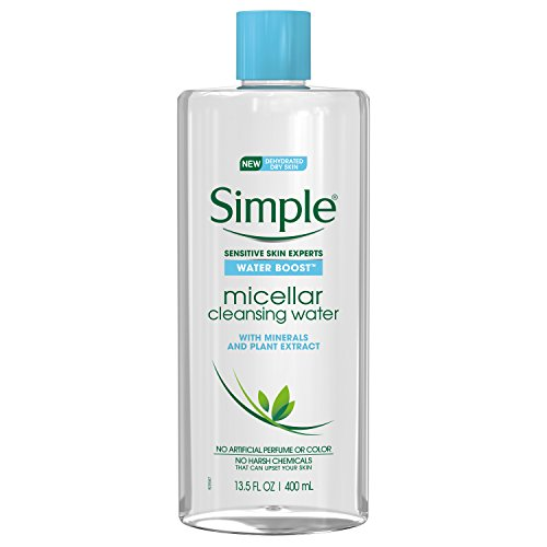 Simple Water Boost Micellar Cleansing Water for Sensitive Skin Twin Pack