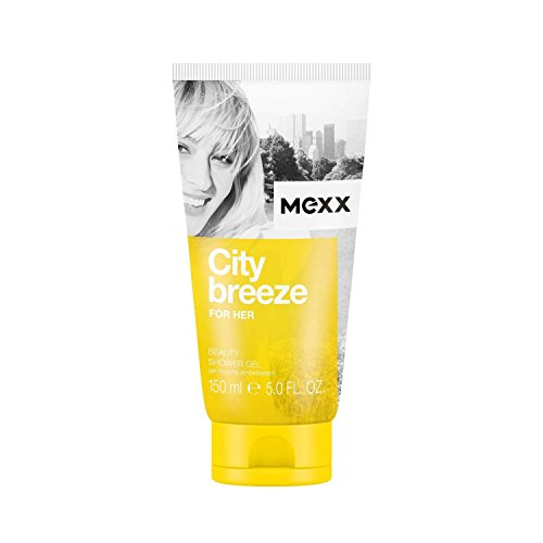 Mexx City Breeze For Her – Damen Duschgel – fruchtig-blumiges Shower Gel für den Sommer – 1er Pack (1 x 150ml)