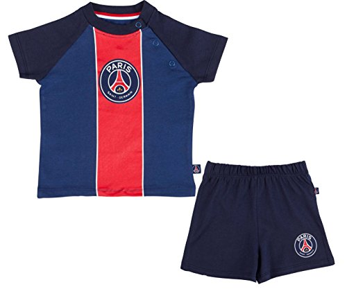 Paris Saint-Germain babyset, T-shirt + Shorts PSG, officiële collectie