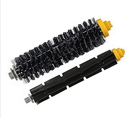 Pinceles Aspiradores Kit de accesorios de cepillo de rodillos principal compatible con Irobot Roomba 600 Series 605 606 616 620 650 655 660 625 676 680 690 Robot Aspirum Accesorios para Aspiradora