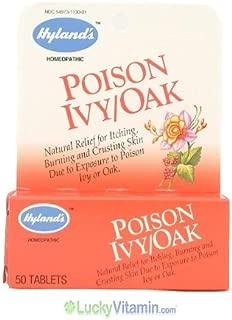Poison Ivy/Oak Tablets 50 Tabs (Quick Disolving Tablets) - Hylands