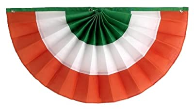 Independence Bunting St. Patrick's Day Decorations American Made Nylon Irish Flag Banner! Get a Little Luck of The Irish with Our Fully Sewn Irish Bunting