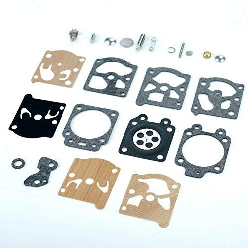 SENRISE Kit de réparation de carburateur pour carburateur Walbro WA WT Series Carby K20-WAT, McCulloch Mac 35 Ect