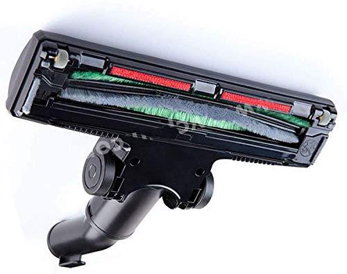 Maxorado Turbodüse rotierende Bürste 32mm 35mm Düse kompatibel mit Staubsauger Bodendüse AEG VAMPYR 5070.0/5070.1 E185 E190 E181 E200 Progress 2300 Omega 1400 Dirt Devil Nilfisk 69-NL-02 GS GM