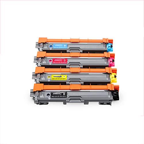 Imagen GPC Hermano 9020 C, M, Y, K Cartucho de tóner Compatible con Impresora DCP9020CDN del Hermano (Negro, Amarillo, Magenta, Azul),Suit