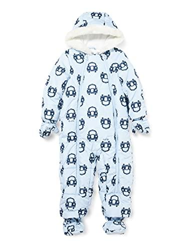 Chicco Piumina bebé. Giacca Imbottita per Bambini e Neonati, Azzurro, 68 Bimbo
