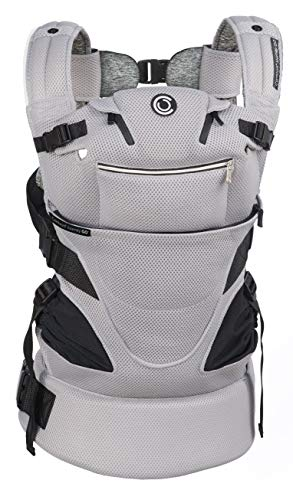 Contours Journey GO 5 Position Baby Carrier, Daydream Grey