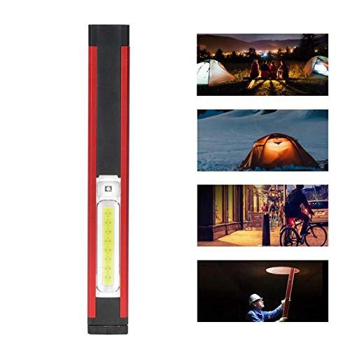DAUERHAFT Mantenimiento del Coche Iluminación Exterior Emergencia magnética LED Luz de Trabajo de Carga Luz magnética de(WL03 Long Section (with Pen Holder) 500 mA)