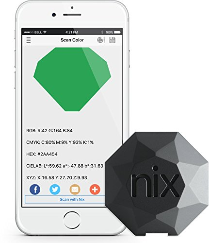 Nix Sensor Ltd. Color Sensor - Professional Color Matching Tool - Identify and match paint and...