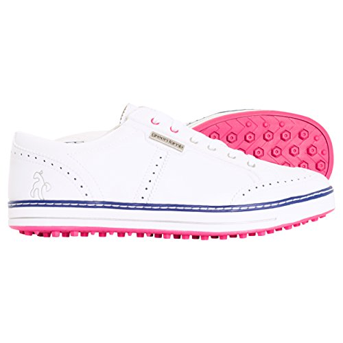 Green Lamb - Zapatos de Golf para Mujer *, Color Blanco, Talla 38