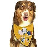 Osmykqe Bufandas para Perros Bufanda para Mascotas Bádminton Clásico Perrito Lindo para Mascotas Bufandas con pañuelos para pañuelos