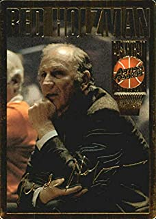 Red Holzman basketball card (New York Knicks Coach, Hall of Famer) 1994 Action Packed Greats #4