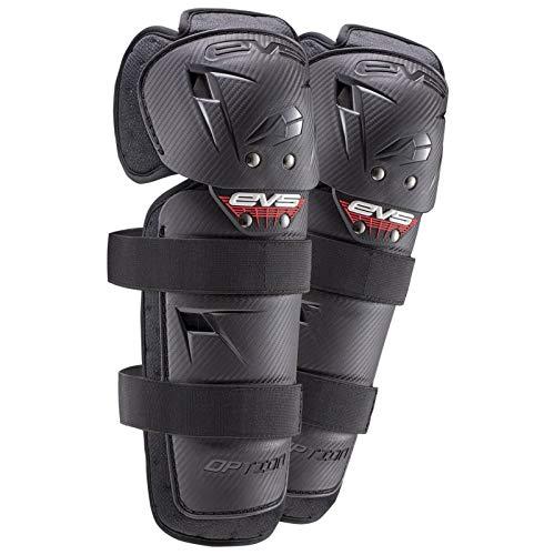 EVS Sports OPTK16 Boy's Option Knee Pad (Black, Mini), 2 Pack