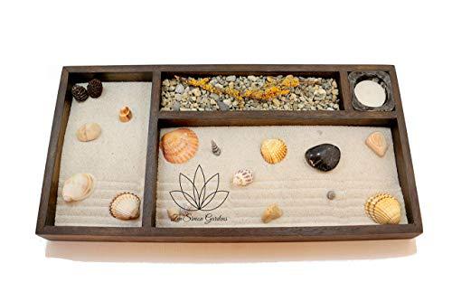 Giardino Zen In Miniatura (Personalizzabile) per Arredamento Della Casa o Ufficio ॐ Zensimongardens®