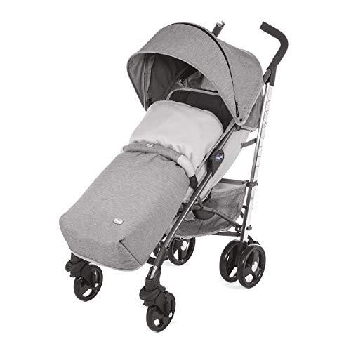 Chicco Liteway 3 Silla de paseo plegable y multifuncional, Unisex Bambini, Gris (Titanium)